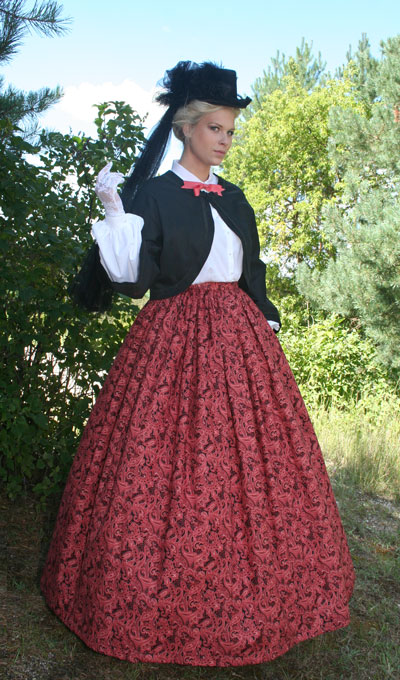 Civil War Era Day Dresses 1860 1865 Forest Creek